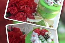 candies box/toples flanel