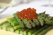 Asparagus dishes