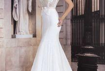white line dress / שמלות כלה במחיר שלא תאמיני
