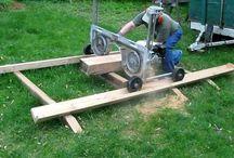Transportabel Sawmill