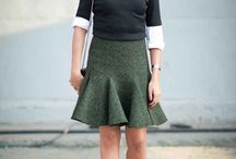 love the skirts