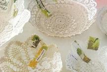 Crochet doilys