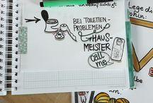 Sketchnotes Schule