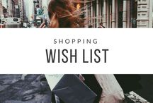 Shopping Wish List