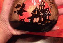 Halloween / Festett kavics