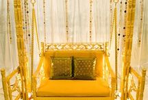 Gold Wedding Inspiration / Ideas for a gold themed wedding