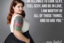 Celebrity Inspiration / Celebrity and well know plus size women who inspire our style