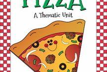 Elementary Theme Pizza / by Karen Mills