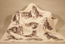 Cat Scarves