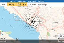 Tellus, terremoti in Italia e nel mondo / Tutti i terremoti italiani maggiori di Magnitudo 2.0 e quelli nel mondo maggiori di Magnitudo 6.0