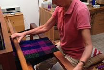 A Day in the studio... / How a Carol Press scarf is made...