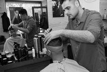 Barberia en estado puro / Recopilación de momentos vividos en el día a día de la barberia