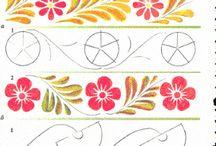 цветочные бордюры