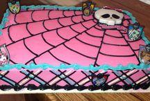Monsterhigh cakes