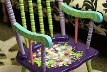 Art - Painted Chair Reference