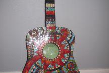 ギターのアート
