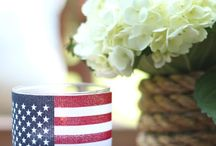 Patriotic Holiday Crafts & Food / by Kim Pacheco