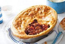 Savery pies