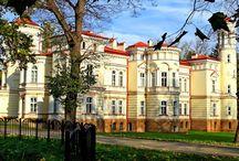 Przemyśl - Pałac Lubomirskich / Pałac Lubomirskich w Przemyślu - Bakończycach wybudowany w latach 1885–1887 na polecenie księcia Hieronima Adama Lubomirskiego, według projektu Maksymiliana Nitscha. Od 13 czerwca 2006 teren pałacu stanowi siedzibę Państwowej Wyższej Szkoły Wschodnioeuropejskiej w Przemyślu.