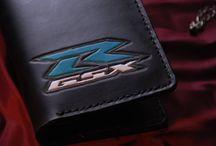 Suzuki GSXR Travel Leather wallet