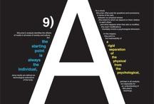 typography inspiration / by Mark Eymer