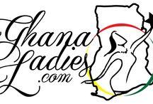Ghanaladies.com logo / GhanaLadies.com is online community that celebrates the beauty, culture and diversity of Ghanaian ladies.