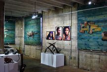 Spathalicious: A Retrospective / Our exhibition from our beginnings to the present. Held at Station No.# in The Warehouse Arts District St Petersburg FL 9/14