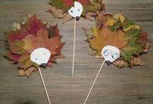 PODZIM / Vše okolo podzimu - inspirace pro tvoření s dětmi, výlety, vaření, knížky #zkratky3dmatky