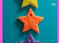 Salt dough stars