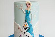 Elsa Frozen Cake 1