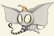What if Tim Burton designed... / ...harry potter, doctor who, pokemon, etc.