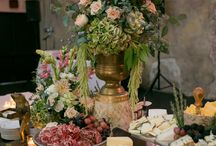 Food/ Reception / Catering, platters, cheese boards, decorative tables , centre pieces