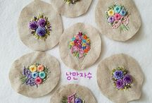 Embroidery kecil