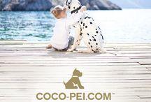 COCO-PEI.COM™ / COCO-PEI.COM™ è la boutique online per cani che propone un'accurata selezione di collari, guinzagli, pettorine, bandane, letti, cuscini, abbigliamento e accessori da viaggio provenienti dal settore del design e del lusso per cani.