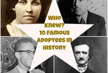 Famous Adoptees / Did you know these celebrities are part of the adoption family?