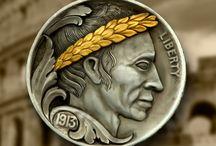 hobo nickels / by Baldur Bear