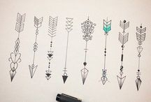 Tatoo flechas