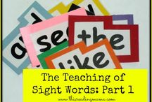 Sight Words / by Christine Moran