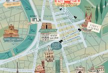 Illustrated Maps Inpiration
