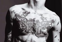 tattoos..mens hot stuff