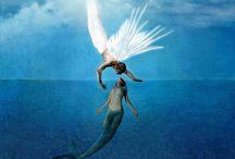 Angelo e Sirena( innamorati )