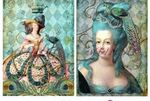 COLLAGE: Wonderland / Wondrous collage, crafts, amazing items of decopage that blow my mind to the ends of the Earth  / by Candace J Metzger | Artist & Designer