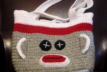 Crochet Bags and Slippers