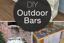outdoor bars and furniture