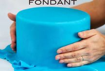 fondant, cakes how-to