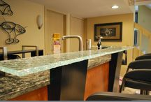 Custom Glass Ideas for you Bar area / Be the talk of the town with the coolest and most innovative custom glass bars.