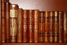 patina-books / ANTIQUE LEATHER BOOKS
