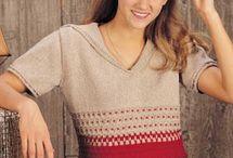 knit autumn sweater