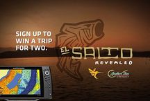 a chance to win a trip for 2 to El Salto Mexico for an ultimate Bass Trip. Visit Humminbird on fb for all the details BB