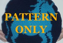 For Sale! / Patterns and products for knitting and crochet! Most picture patterns are available in both 3x5 and 2x2 gauges, visit my Etsy shop for more options! / by Stefanie Fayard